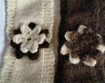 Handmade Alpaca Flower Headband