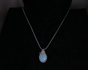 Sterling Silver Mojave Turquoise Necklace