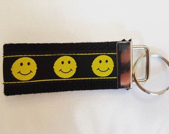 Happy Face Key Fob