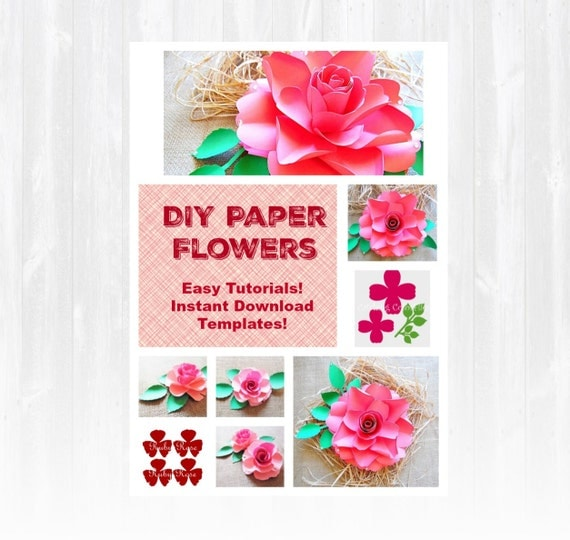 diy paper roses large paper flowers diy wedding paper flowers easy