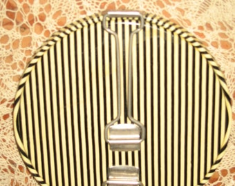 1940's Germany Double Compact Mirror Art Deco Design! #BV