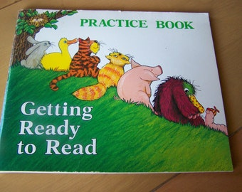 Getting Ready to Read - Vintage Learning Book by Robert L. Hillerich - 1983