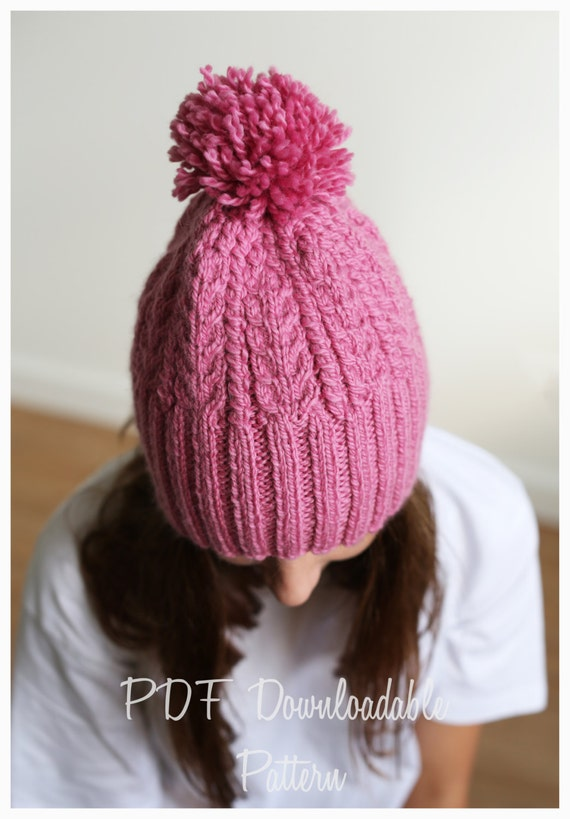 Knitting Inspirations Perth : Knitting pattern mae beanie from thewoollywardrobe on