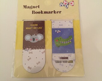 2 Magnetic Bookmarks