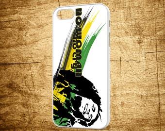 Bob Marley Apple Iphone Case Back Cover Protector Reggae Rock Rasta Rastafari Band Music Group 4-4S-5-5S-6-6S-6Plus