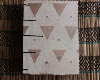 Plywood Coptic Stitch Journal