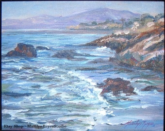 Northern California Coast - 8 x 10 - Unframed