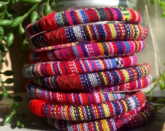 10 ethnic bangles bracelets