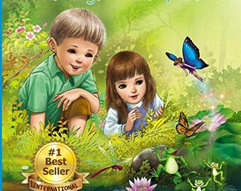 Childrens Bedtime Story Book - Kids Books - Autographed Book for Kids - The Angel In The Garden - Children's book for Bedtime -Bedtime Story