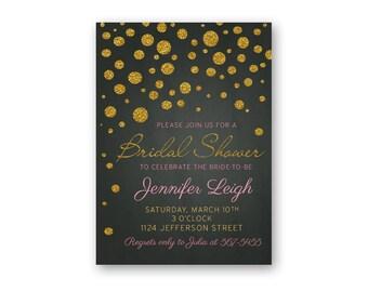 Bridal Shower - Bridal Shower Invitations - Bridal Shower Invites