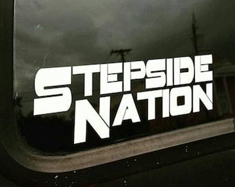 Stepside nation Decal