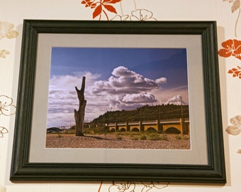 Framed Photograph Italian Country, Italian Landscapes