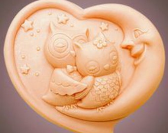 The Love Owls Silicone Mould