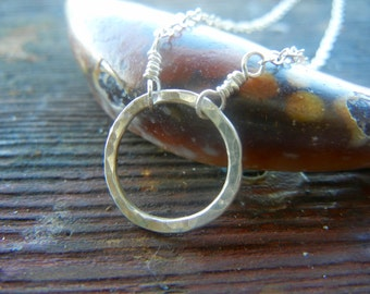 Eternity Necklace, Circle Necklace