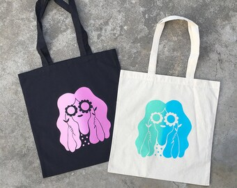 Tote Bag / Flower Power