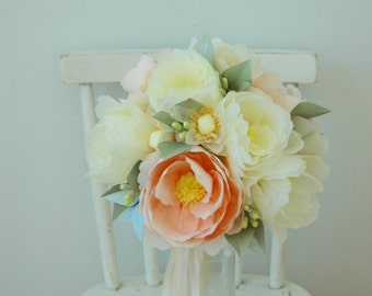 Paper Flower Forever Alternative Bridal Wedding Bouquet