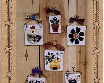 Uncut Patterns~Country Faces~Signs of Spring~Quilting Design by Myra Mahy #722