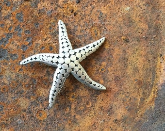 Bali vintage sterling starfish brooch.  The sweetest!