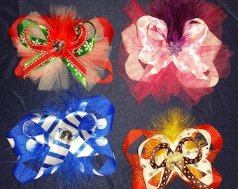 Custom Stacked Hairbows