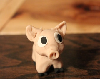 Miniature pig ~ Polymer clay