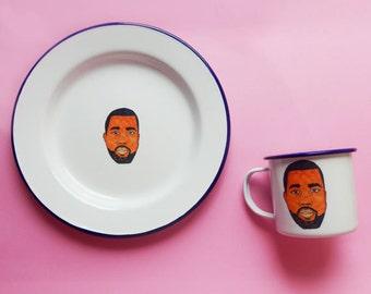 Kayne Plate and Mug Set