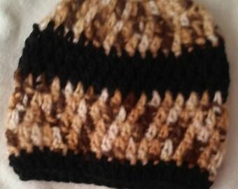 Crochet Beanie Hats /6-10Years