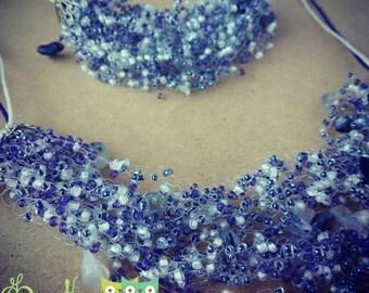 """Jewelry Set """"Winter Tale"""""""