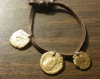 children's Roman coin bracelet