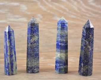 Lapis Lazuli Standing Towers~Wand ~ Massage Wand
