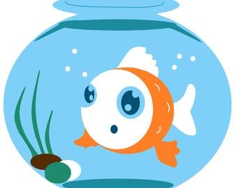 Fishbowl craft | Etsy