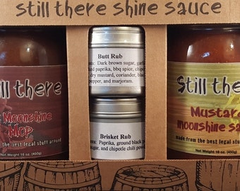 Still There Shine Sauce Pork Grilling Kit