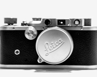 Leica Leitz IIIC with collapsible lens SUMMICRON-M 50mm f/2 Collapsible M39