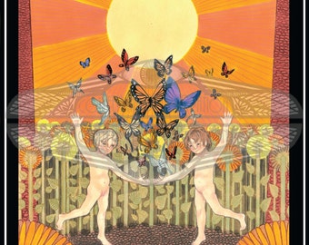 The Sun- Major Arcana Original Size Art Print