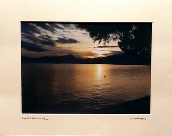 "Signed Limited Edition A4 Landscape Photograph in 40cm x 30cm (16"" x 12"") Mount"