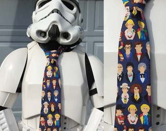 Doctor Who Novelty Necktie - Dr Who The Doctors Tie