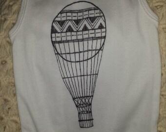 12M Balloon onesie tank