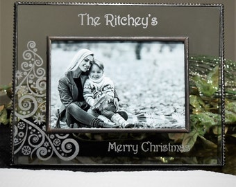 Personalized family Christmas Picture Frame - Pic 319 Series EP 562