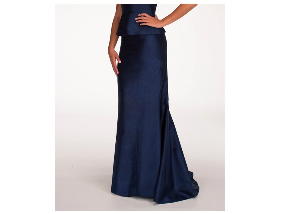 sle sale silk maxi skirt navy blue maxi skirt evening