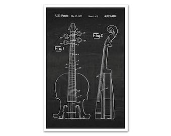 Cello Patent Poster Print