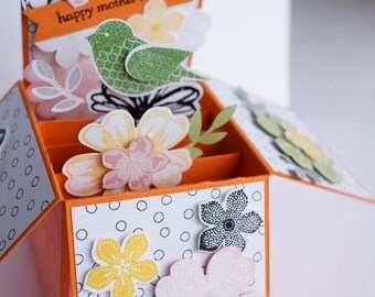 Mother's Day Orange FAS Card