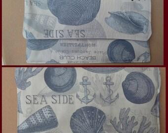 Sea Life Clutch Handbag