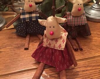 Cinnamon Stick Reindeer