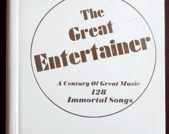 The Great Entertainer - A Series of Great Music - 128 Immortal Songs 1972 - Sheet Music