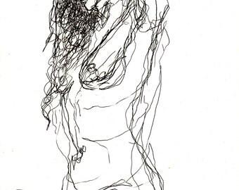 Nude sketch 7
