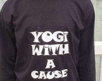 Yogi with a Cause Long Sleeved T-shirt