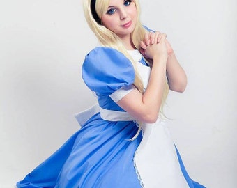 Disney Alice in Wonderland custom made dress