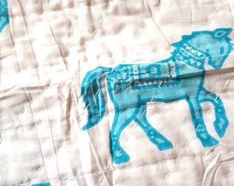 Designer Baby Quilts [Horse]