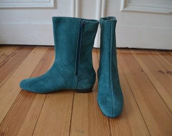 Vintage 1960s suede Go-Go boots