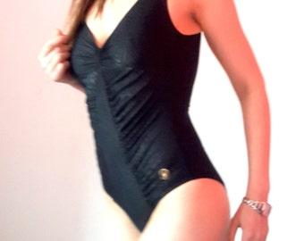 Triumph Black Elegant One-Piece Swimsuit