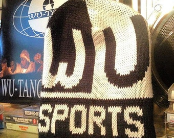 WU WEAR wutang skully beanie NEW old stock from the 90s!